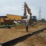 kopanie izasypywanie fundamentów