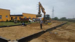 kopanie i zasypywanie fundamentów