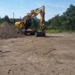 przygotowanie gruntu podbudowę